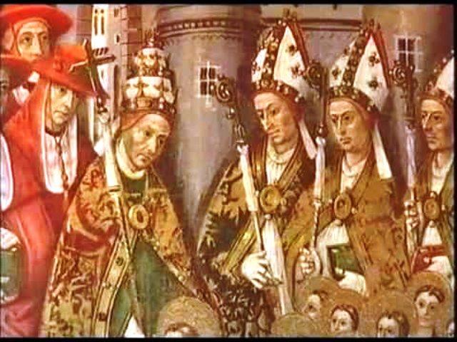 Papa en Roma, avignon y pisa