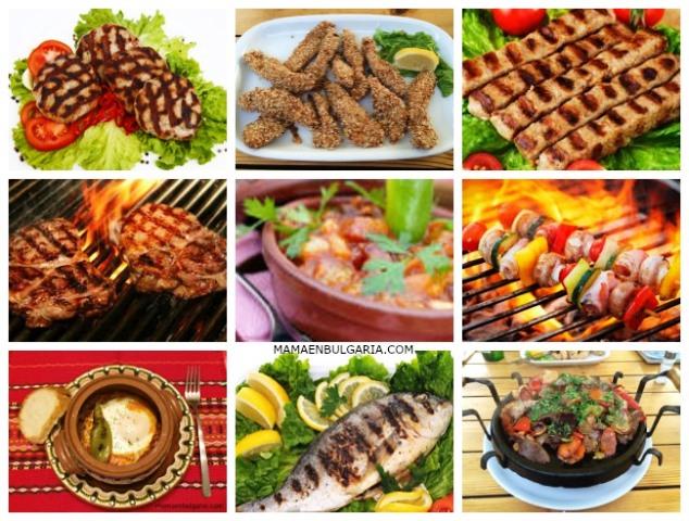 Platos de carne Bulgaria