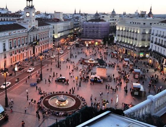 Madrid viajes - El corte ingles puerta del sol ...