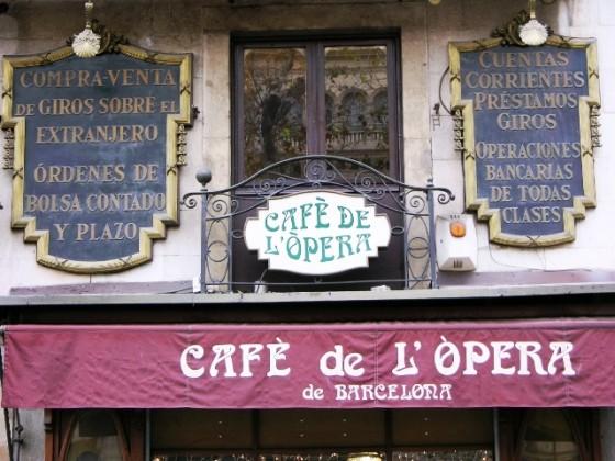 Rambla dels Caputxins - Cafe de l'Opera