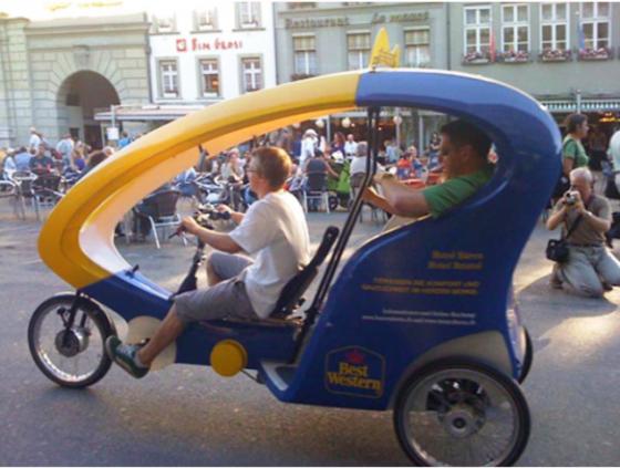 'Rikscha_Taxi_Zürich