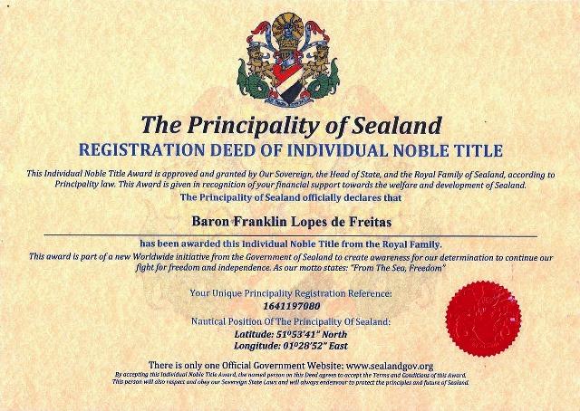 Sealand-Diploma