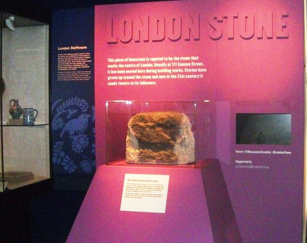 The_London_Stone_in_Museum_of_London_-_2016