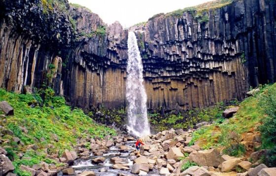 Waterfall-in-Skaftafell