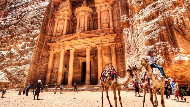 a Petra-Jordania