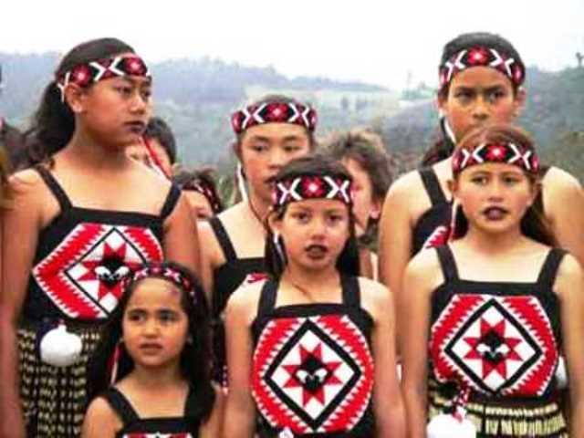 a maori