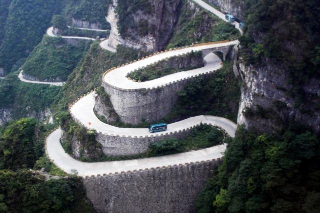 carretera tianmen
