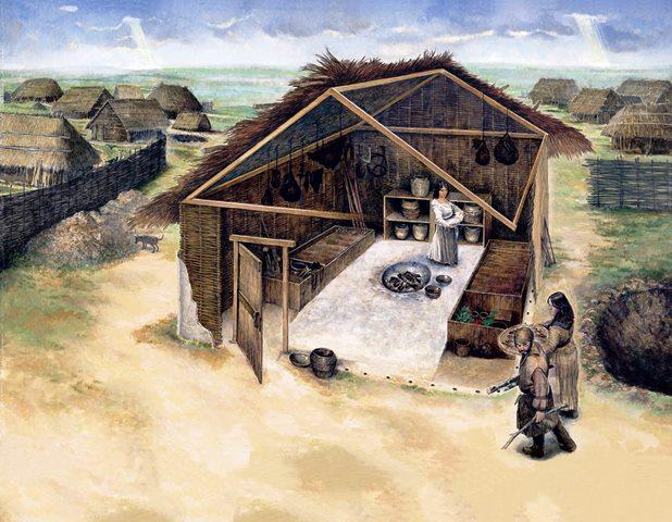 casas de peregrinos
