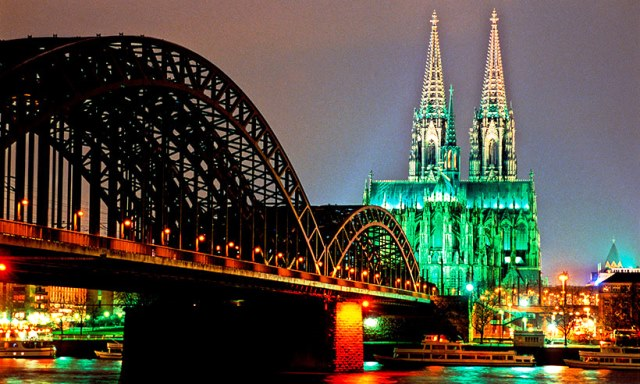Cathedral at Night - Cologne