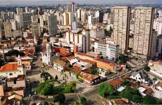 Setor hist?rico de Curitiba, Praa Garibaldi. Reg. Matriz.Foto: Ricardo Almeida/SMCS