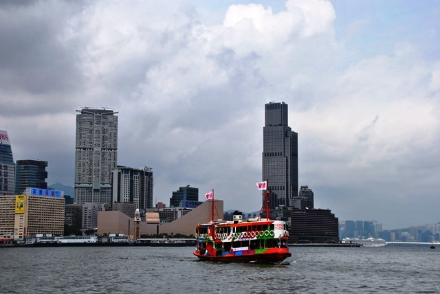 ferry entre Hong Kong y Kowloon