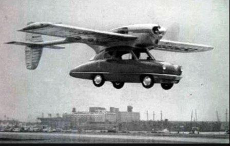 Autos y motos voladoras