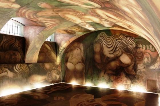Siqueiros el mural y la ninfa uruguaya viajes for El mural de siqueiros en argentina