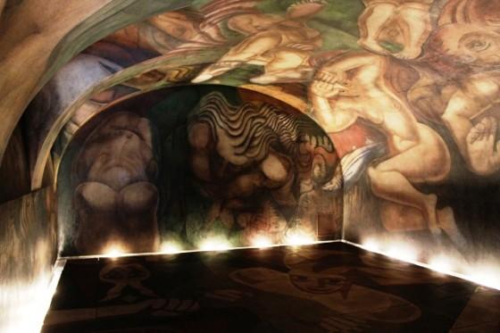 Siqueiros el mural y la ninfa uruguaya viajes for El mural pelicula argentina