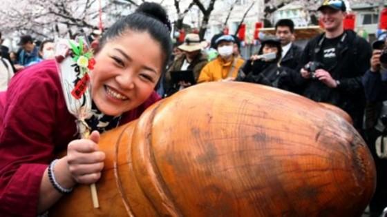 Resultado de imagen para festival del pene en japon