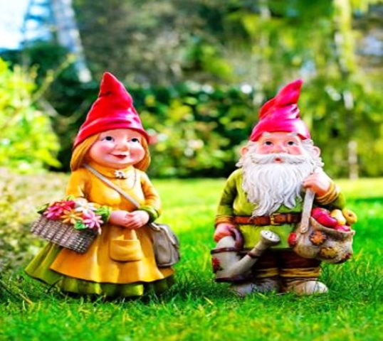 Gnomos de jard n horribles m ticos f licos viajes for Jardin con enanitos