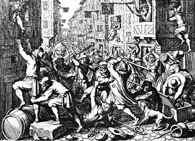 pogromos contra judios