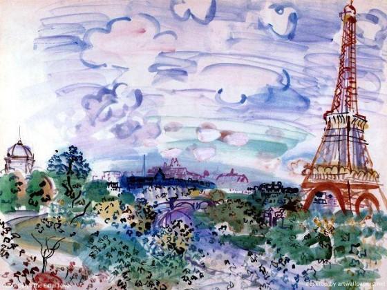 raoul_dufy Tour Eiffel
