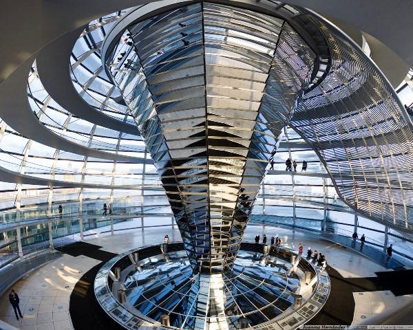 Reichstag Kupel mittel, Berlin, Germany