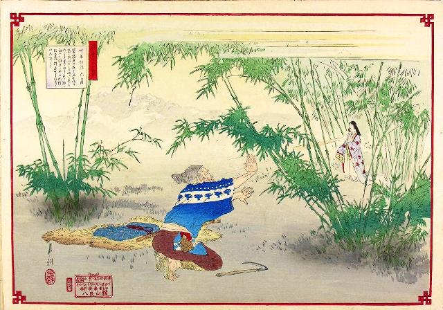 taketori-monogatari-the-tale-of-bamboo-cutter-by-ogata-gekko