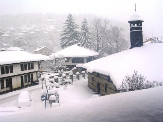 triavna invierno vista del hotel[1]
