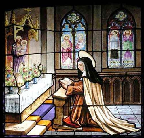 vitral del convento